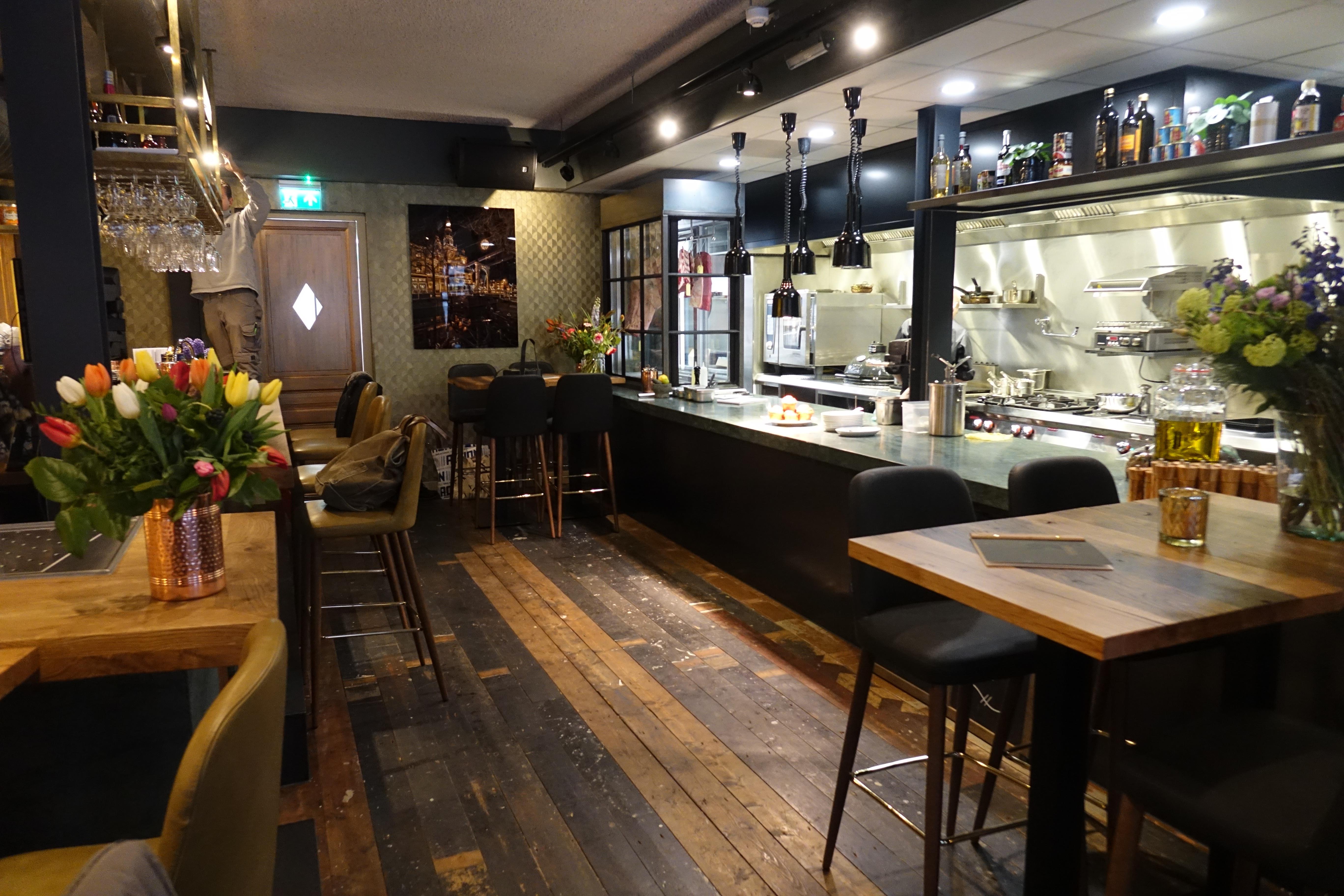 Keuken Grote Open : Grote open keuken restaurant: open keuken restaurant old dutch