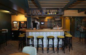 inrichting bar horeca TAV