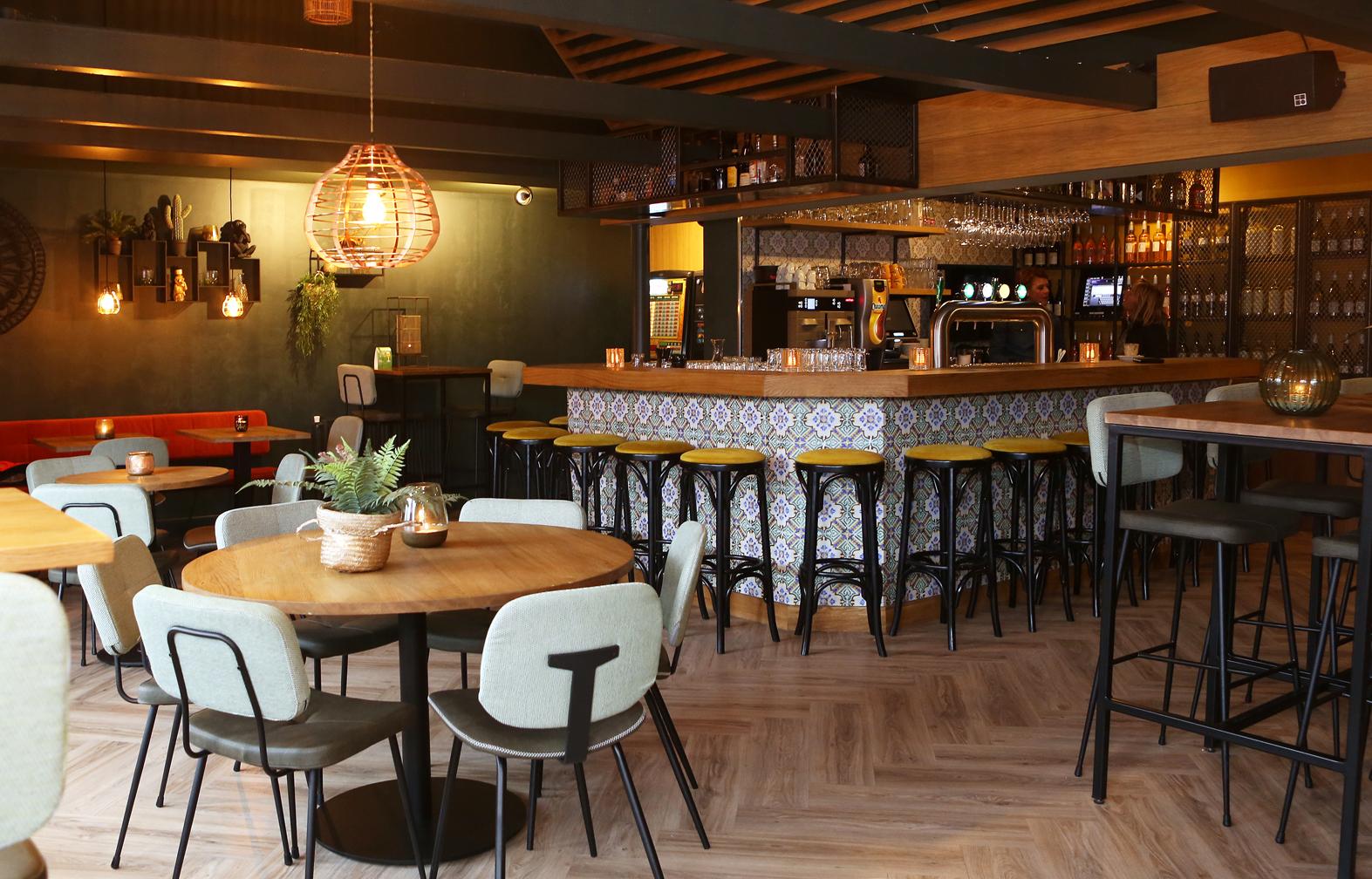 inrichting cafe en bar TAV