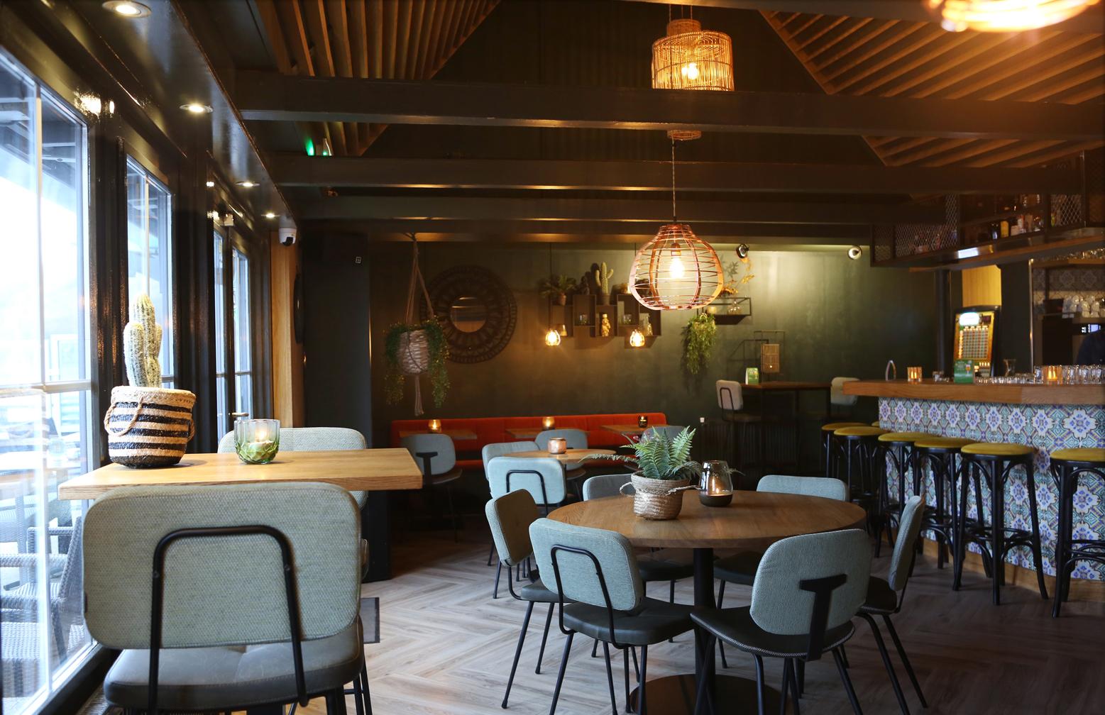 inrichting restaurant TAV
