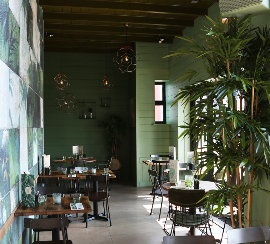 inrichting restaurant porterhouse